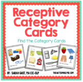 Receptive Category Task Cards