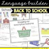 Language Builder: Back to School