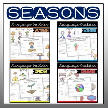Language Builder: Seasons & Holidays BUNDLE