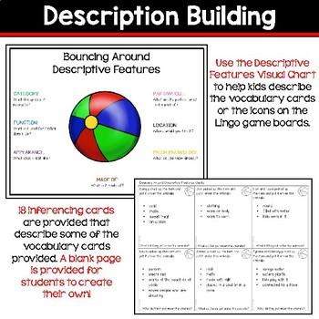 Receptive & Expressive Language Builder: Summer Edition