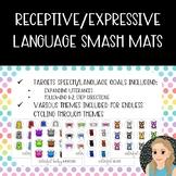 Receptive/Expressive Language Smash Mats