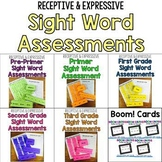 Sight Words Assessment Bundle: Receptive & Expressive