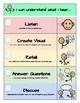 Receptive Language Rubrics for Therapy