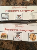 Receptive Language for students with Autism BUNDLE