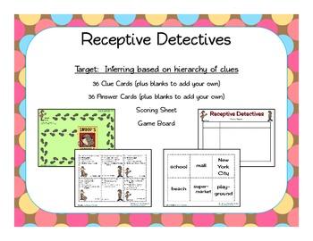 Receptive Language Bundle
