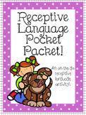 Receptive Language Pocket Packet