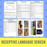 Receptive Language Screen AKA Auditory Comprehension Screen