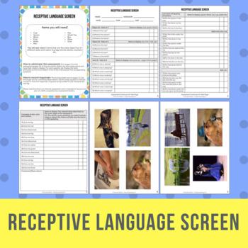 Receptive Language Screen AKA Auditory Comprehension Screen