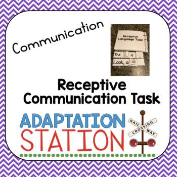Receptive Language Task