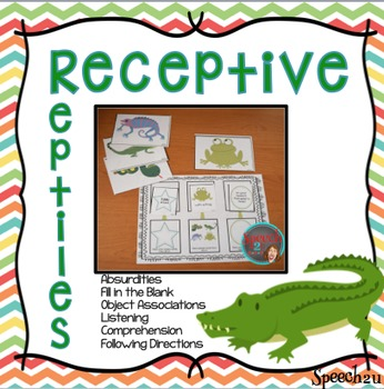 Receptive Reptiles: Speech therapy, Directions, Auditory processing