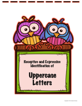 Receptive and Expressive ID of Upper and Lowercase Letters/Sounds ABLLS-R Q1-4