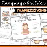 Language Builder: Thanksgiving