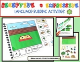 Receptive and Expressive Language Building Activities