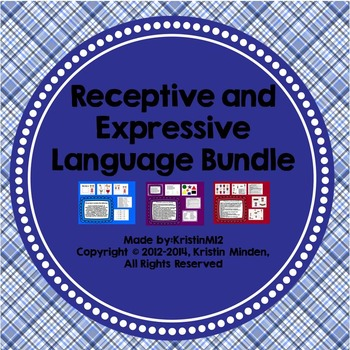 Receptive and Expressive Language Bundle