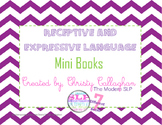 Receptive and Expressive Language Mini Books