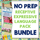 NO PREP Receptive & Expressive Language Pack {BUNDLE}