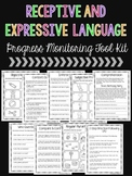 Receptive and Expressive Language Progress Monitoring Tool Kit