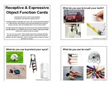 Receptive and Expressive Object Function Cards