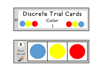Receptive language cards (Colour) Autism/Special/Needs