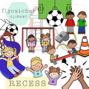 recess clipart by flycatcher clipart teachers pay teachers rh teacherspayteachers com free clipart for teachers pay teachers how to create clipart for teachers pay teachers