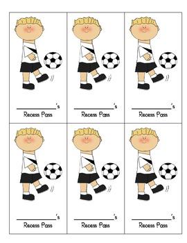 Recess Ball Pass