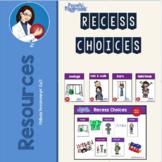 Recess Choices Cards