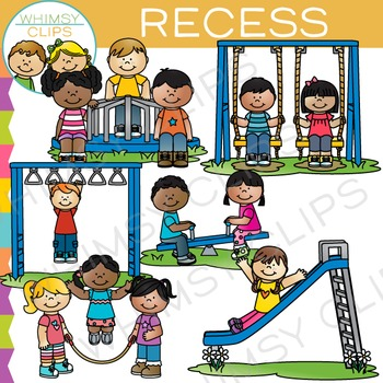 School Recess Clip Art