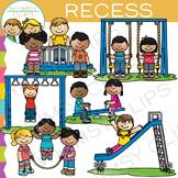 School Recess Clip Art