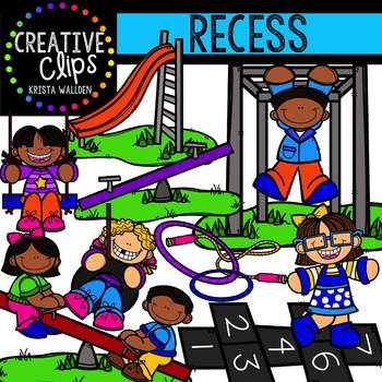 Recess {Creative Clips Digital Clipart}