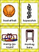 Recess Emergent Reader- Kindergarten- w/ Writing Activity and Pocket Chart Cards