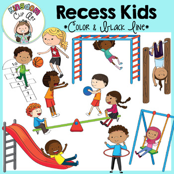 vector graphics BUY 20 GET 10 OFF Recess kids clipart commercial use digital images CL677 digital clip art