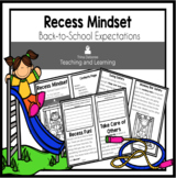 Recess Mindset Reader: Back-to-School Expectations