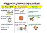 Recess & Playground Positive Behavior Expectations