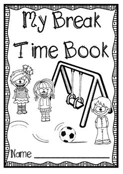 Recess Reflection Book