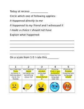Recess Reflection Sheet