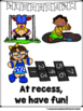 Recess  Rules......For Having Fun!  (A Sight Word Emergent