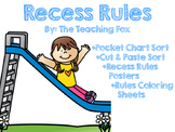 Recess Rules {Making Good Choices}