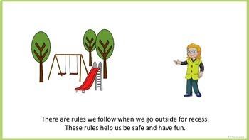 Recess Rules - Social Narrative (FULL VERSION)