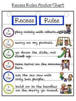 Recess Rules and Procedures Resource Pack