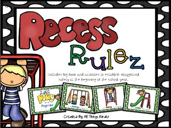 Recess Rulez Big Book and Activities