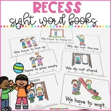 Recess Rules - Sight Word Books