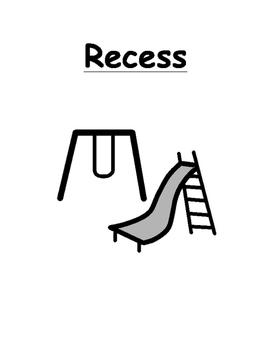 Recess Social Story