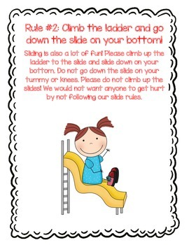 Recess and Playground Safety Rules and Routines