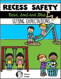 Recess and Playground Safety Sort Page for Kindergarten &