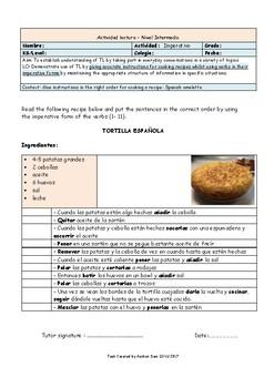 Receta Tortilla Española - Spanish omelette recipe
