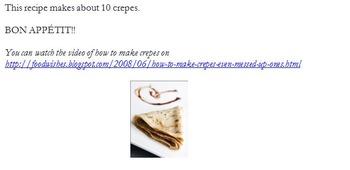 Recette de Crepe - Delicious & Student Friendly Crepe Recipe
