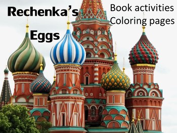 Easter Picture Book activities Rechenka's Eggs