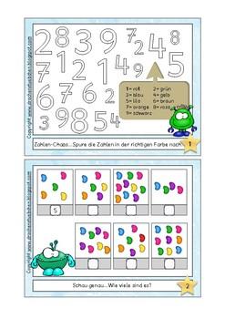 Rechenkartei Klasse 1 - Math archive for first grade
