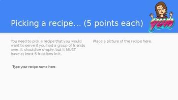 Recipe Adjustment Project
