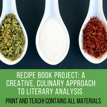 Recipe Book Project A Creative Culinary Approach to Literary Analysis